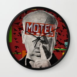 Public Figures Collection -- Hitchcock Wall Clock