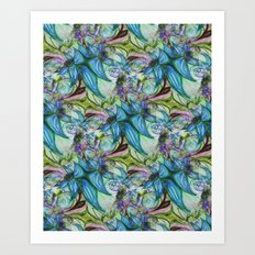 Breathless Beauty Art Print