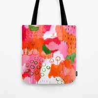 popsicle Tote Bags featuring Popsicle by Portia Monberg