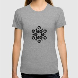 Enter the void | Sacred geometry | Alien crop circle T-shirt