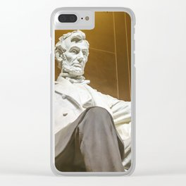 Honest Abe Clear iPhone Case