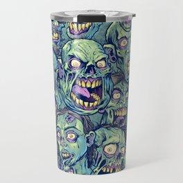 Zombie Repeatable Pattern Travel Mug