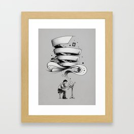 Creative Flow Framed Art Print