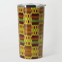 Kente Jamaica 1 Travel Mug