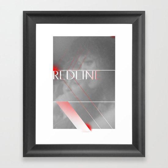 REDLINE Framed Art Print