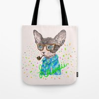 hawaii Tote Bags featuring Hawaii by dogooder