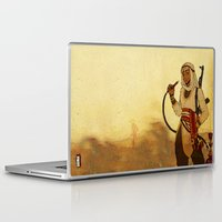 aladdin Laptop & iPad Skins featuring Modern Day Aladdin by Sako Tumi
