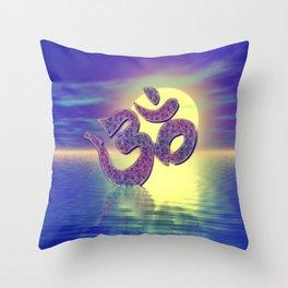 Om Zeichen Throw Pillow
