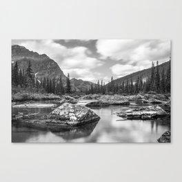 Consolation Lakes, Canada Canvas Print