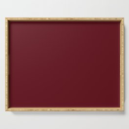 Cranberry Serving Tray
