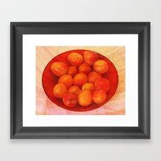 Apricots Framed Art Print