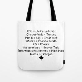 Canadian Love Tote Bag