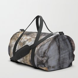 Petrified wood 3264 Duffle Bag