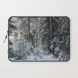 Wintry forest. Laptop Sleeve