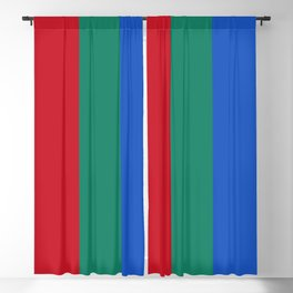 Flag of the planet Mars - Diff TEE version Blackout Curtain