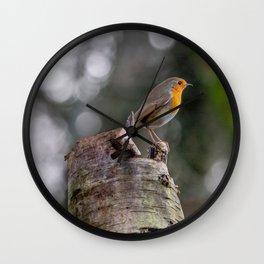 Rockin Robin. Wall Clock