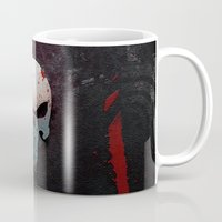 punisher Mugs featuring Punisher Skull  by Electra