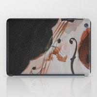 violin iPad Cases featuring violin by Anja Kidrič AdAk