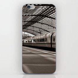 Train-Station of Berlin iPhone Skin