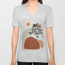 Soft Shapes I Unisex V-Neck