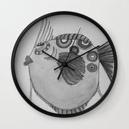 LARRY B/W Wall Clock