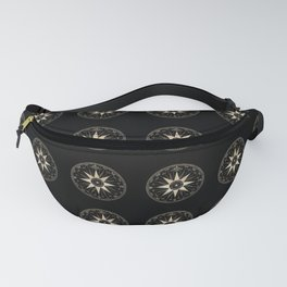 Mariner's Compass Pattern Fanny Pack