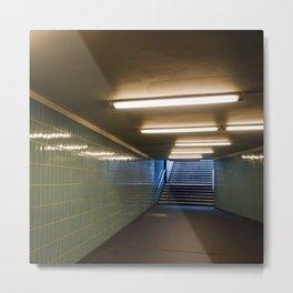Tube Station - Fehrbelliner Platz - BERLIN UNDERGROUND Metal Print