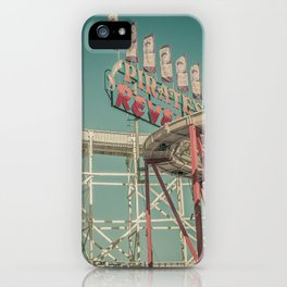 Luna Park iPhone Case