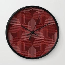 Op Art 108 Wall Clock