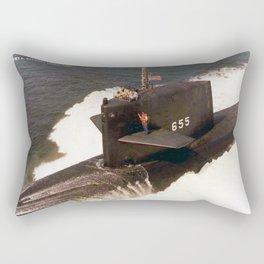 USS HENRY L. STIMSON (SSBN-655) Rectangular Pillow