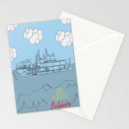 Zissou Boat Stationery Cards