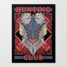 Hunting Club: Stygian Zinogre Canvas Print