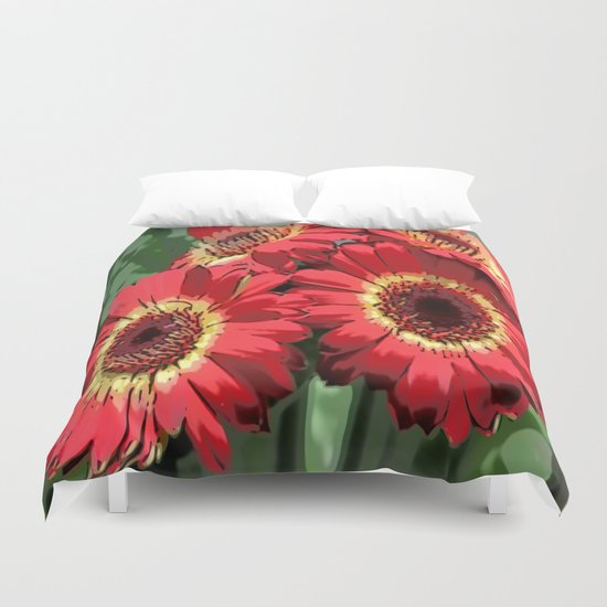 Floral Dreams Duvet Cover