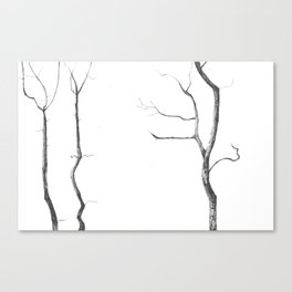 Reaching up Canvas Print