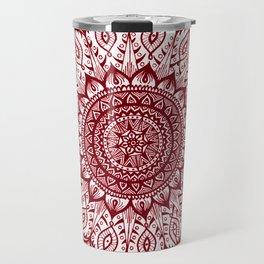 Mistletoe-Garnet Travel Mug