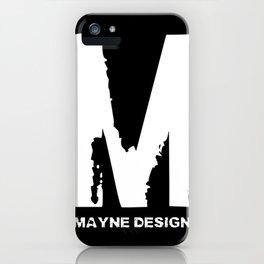 Mayne Design iPhone Case