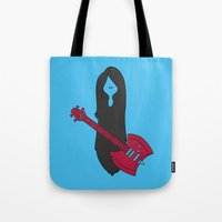 marceline Tote Bags featuring Marceline Variant by SBTee's