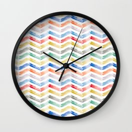 Candy Stacks Wall Clock