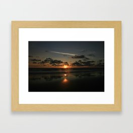 mystic sunset 2 Framed Art Print