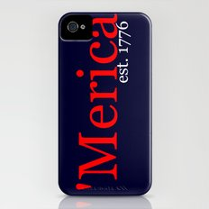 'Merica Slim Case iPhone (4, 4s)