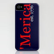 'Merica iPhone (4, 4s) Slim Case