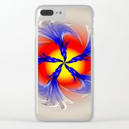 Abstract - Perfection 49 Clear iPhone Case