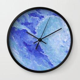 Heart Wave Wall Clock