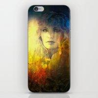 "sandra dieckmann iPhone & iPod Skins featuring "" Sandra ""  by shiva camille"