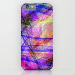 Color mayhem iPhone Case