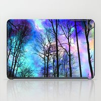 decal iPad Cases featuring fantasy sky by haroulita