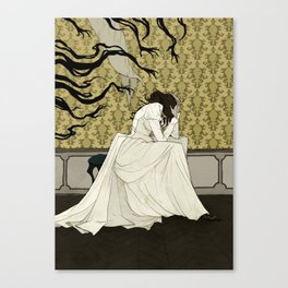 The Yellow Wallpaper Canvas Print