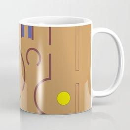 Aldo Van Eyck Meets Jamini Roy Coffee Mug