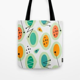 Mid-century abstraction Tote Bag