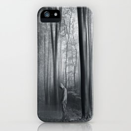 gridLock - surreal forest scenery iPhone Case